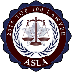 ASLA Logo 2015 Top 100 Lawyers