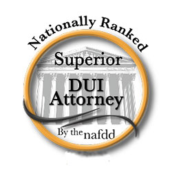 Nationally Ranked Superior DUI Attorney Logo